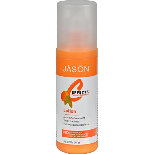 Jason Natural Products Ester-C Perfect Solutions Facial Lotion, 4 Ounce - 3 per ()