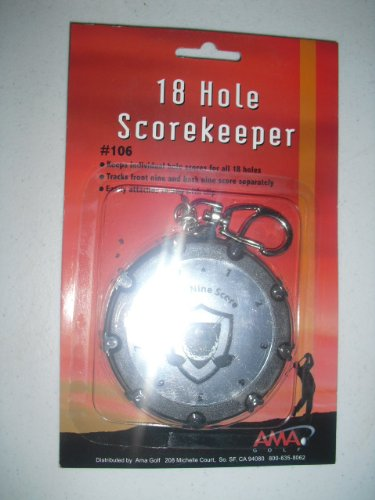18 Hole Circular Golf Score Keeper B008I5U6LM