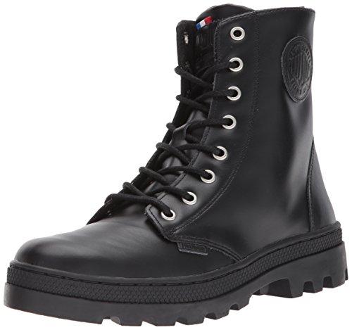 huge surprise cheap online Palladium Women's Pallabosse Off Lea Chukka Boot Black extremely online 4LAGyTGBOJ