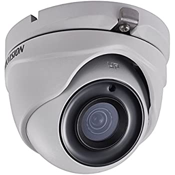 Hikvision 5MP 4-in-1 Turbo HD IR IP67 Rated (Outdoor/Indoor Use) Mini-Dome Camera DS-2CE56H0T-ITMF with 2.8mm Fixed Lens (up to 5MP HD-TVI & AHD/4MP CVI)