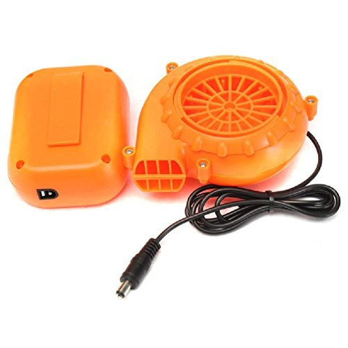 Mini Air Pump For Inflatable Costumes Airblown Mascot Clothes Portable Fan Powered By Aa Battery Small Blower