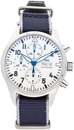 9a842db67 IWC Pilot Mechanical (Automatic) White Dial Mens Watch IW3777-25 (Certified  Pre