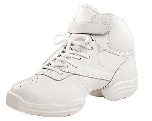 Capezio Dansneaker, Unisexe S000ds01b0mblk060 - Sneakers Adultes Blanc