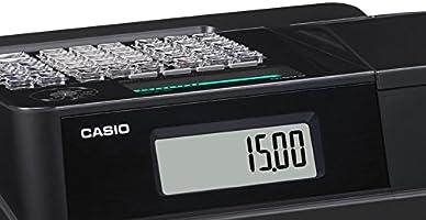 Casio SE-S100SB SR FIS GDPdU a habilitar caja registradora incluyendo licencia de software, tarjeta SD y la batería paquete completo y línea telefónica gratuita, plata/negro: Amazon.es: Oficina y papelería