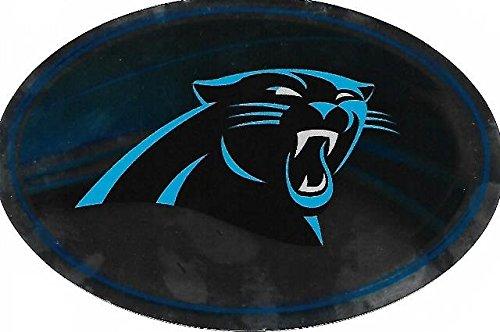 NFL Carolina Panthers Metallic Team Logo