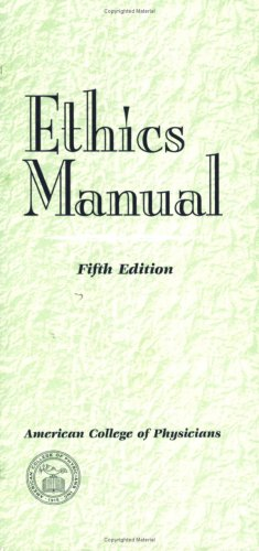 Ethics Manual, Fifth Edition