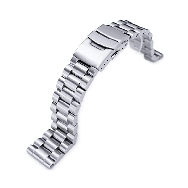 20mm-Endmill-Solid-316L-Stainless-Steel-Watch-Bracelet-Straight-End