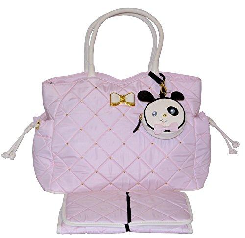 betsey-johnson-3pc-drawstring-diaper-bag-baby-shoulder-handbag