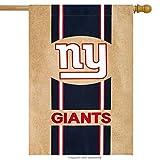 """NFL New York Giants  Burlap House Flag, 29"""" x 43""""/Medium, Multicolor"""