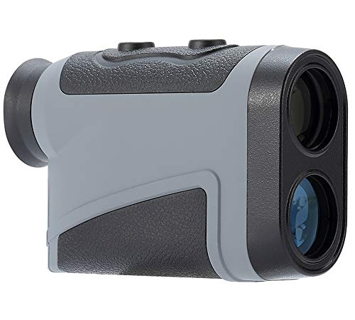 Uineye Golf Rangefinder - Range : 5-1950 Yards, 0.33 Yard Accuracy, Laser Rangefinder with Height, Angle, Horizontal Distance Measurement Perfect for Hunting, Golf, Engineering Survey (Grey) by Uineye (Image #1)