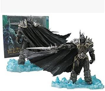 Action Figures World of Warcraft WoW Arthas Menethil Lich King Deluxe Action Figure Statue-1 TV, Movies & Video Games
