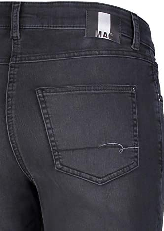 MAC Jeans Melanie Jeans, D951 Authentic Black Wash, 48W x 34L Femme