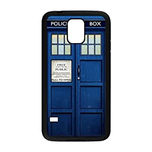 Doctor Who blue police box Cell Phone Case for Samsung Galaxy S5