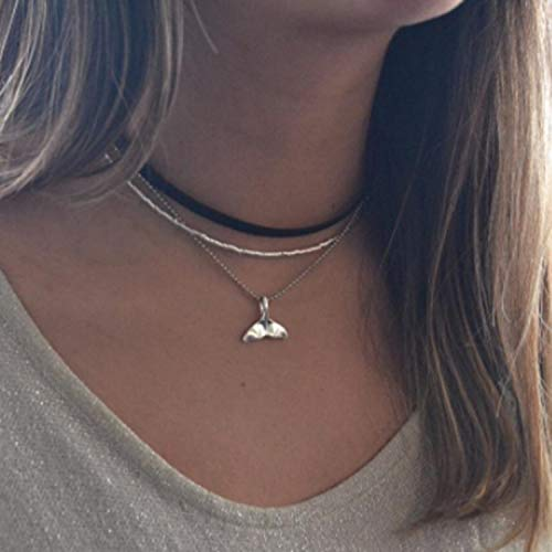 Buy whale charm necklace
