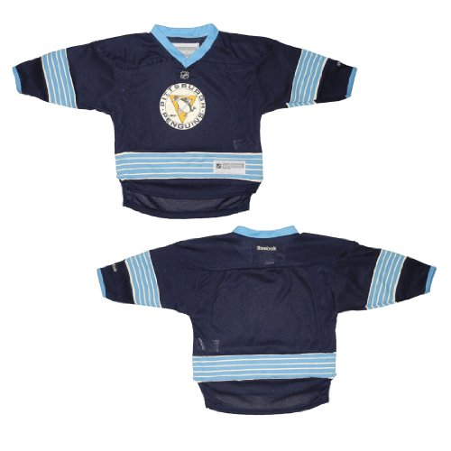Baby Infant / Boys NHL Pittsburgh Penguins Hockey Jersey / Sweater - Dark Blue