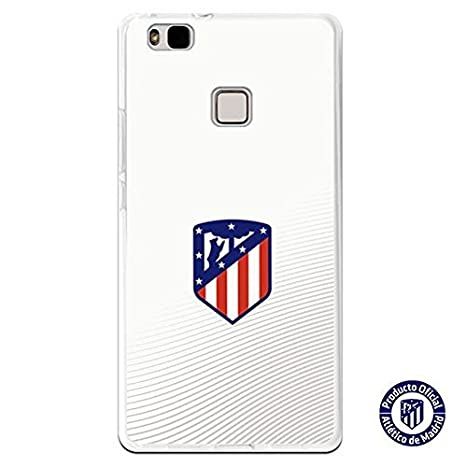Atlético de Madrid Carcasa Escudo Sobre Fondo Blanco ...