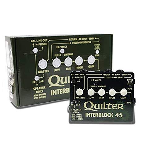 セール 登場から人気沸騰 Quilter (クイルター)◆◆ InterBlock Head 45 Guitar Head ペダルサイズギターアンプヘッド B07KX5MY4F 33/45W◆ 『並行輸入品』 B07KX5MY4F, カネガサキチョウ:217784f5 --- a0267596.xsph.ru