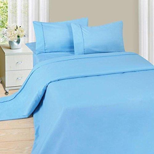 Tula Linen Juego de sábanas de 300 Hilos, 4 Unidades, 100% algodón Egipcio, algodón, Chocolate, UK Individual: Amazon.es: Hogar