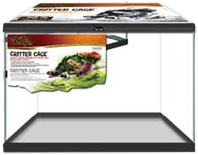 Zilla 28020 20-Gallon Critter Cage, 24-Inch by 12-Inch by 16-Inch
