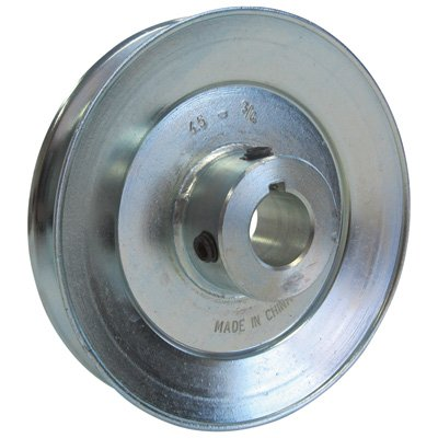 3//4in Outside Dia. Phoenix V-Belt Pulley Bore 4 1//2in
