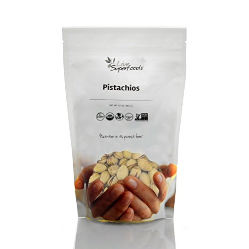 Live Superfoods Pistachios in Shell, Organic, 12 oz