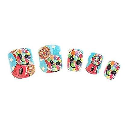 Claires Disney-uñas para niños, aroma de fresa 24 piezas ...