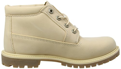 Timberland Nellie Double Collar, Stivali Chukka Donna Rosso (Apple Blossom Waterbuck K39)