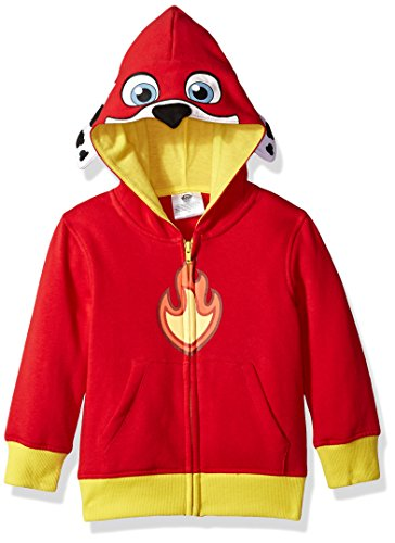 Nickelodeon Little Boys' Paw Patrol Marshall Costume Hoodie, Red, 5