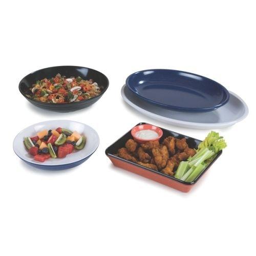 Designer Displayware Pasta Bowl - Carlisle (791303) Designer Displayware Pasta Bowls, Set of 4 (160-Ounce, Melamine, Black)