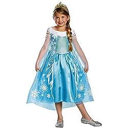 Disney Frozen Elsa Deluxe Costume, 10-12