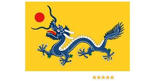 Nuevo bandera de IMPERIAL chino 152,4 cm x 91,44 cm: Amazon.es: Hogar