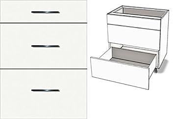 Hervorragend Premium-Ambiente AGE0413 Unterschrank 3-Schubladen Soft Closing FE JH41