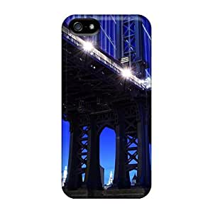 High Quality XTL42049wAbN Beautiful Manhattan Bridge At Night Cases For Case Ipod Touch 5 Cover