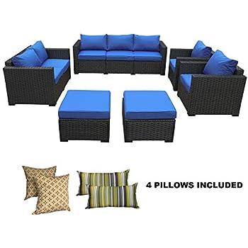 Amazon Com Ovios Patio Furniture Set Backyard Sofa