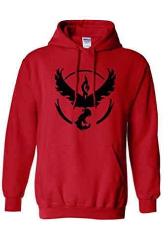 Costume Alpinestars (Xiucos Logo Team Valor/Instinct/Mystic Symbol Jacket Hoodie Cosplay Costume)