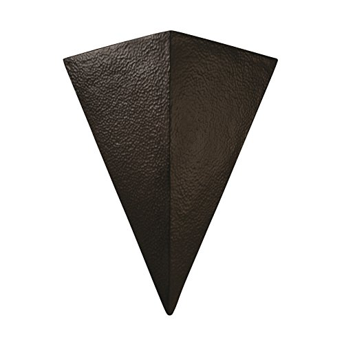 Justice Design Group Ambiance Iron Really Big Triangle Wall Sconce