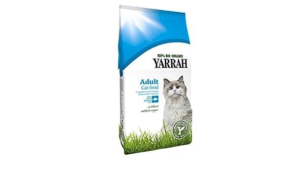 Gato croquetas ecológica con pescado 10 kg yarrah: Amazon.es ...