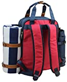 Picnic Backpack for 4   Picnic Basket   Stylish