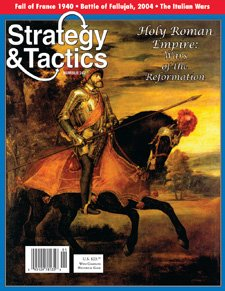 DG: Strategy & Tactics Magazine #247, with Holy Roman Empire Board Game