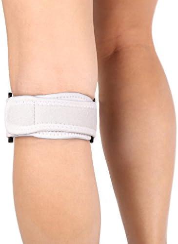 Abco Tech Patella Kniebandage zur Schmerzlinderung beim Wandern, Fußball, Basketball, Volleyball und Kniebeugen (1 Stück)