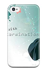 Durable Case For The Iphone 4/4s- Eco-friendly Retail Packaging(bleach)
