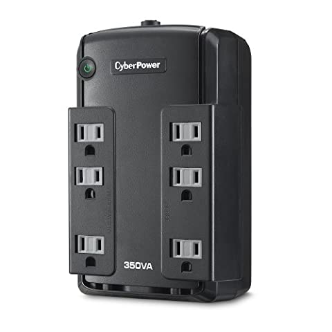 CyberPower CP350SLG Standby UPS System, 350VA/255W, 6 Outlets, Compact (Ups Cyberpower)
