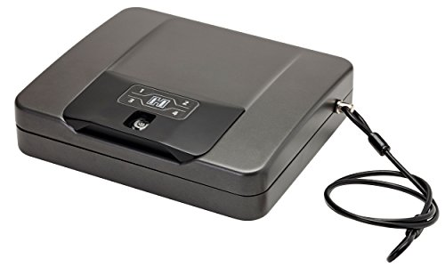 Hornady Rapid Safe 4800KP Keypad or RFID Includes Wristband Key Fob & RFID Stickers