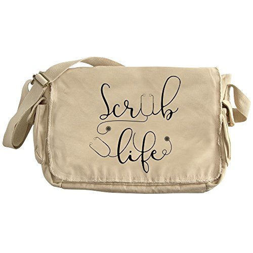 CafePress - Scrub Life - Unique Messenger Bag, Canvas Courier Bag by CafePress