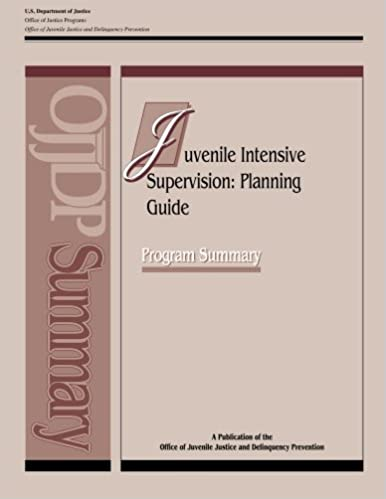 Amazon.com: Juvenile Intensive Supervision: Planning Guide ...