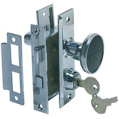 Perko 0927DP0CHR Mortise Lock Set