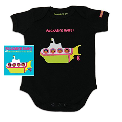 Price comparison product image Rockabye Baby! More Lullaby Renditions of The Beatles + Organic Baby Bodysuit (Album Art)
