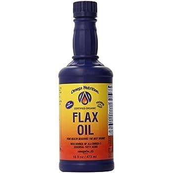 Amazon.com: Omega Nutrición Flax Seed Oil, 32-Ounce: Health ...