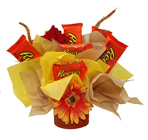 Candy Bouquet Well Soon - Reese's Chocolate Candy Bouquet | Autumn Decor