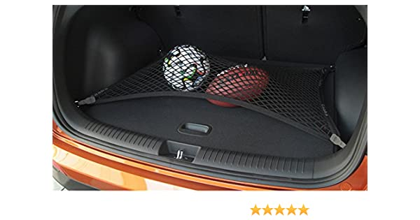 Pegasuss Custom fit High Elastic Floor Style Rear Trunk Storage Luggage Net for Porsche Cayenne
